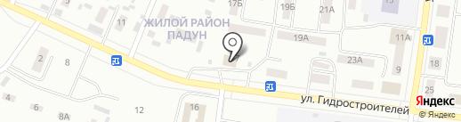 ЯР на карте Братска