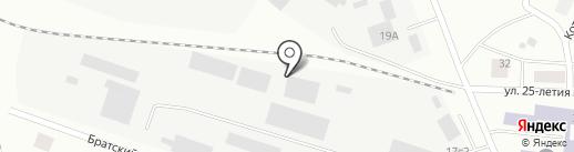 Производственная компания на карте Братска