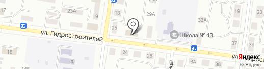 Уголовно-исполнительная инспекция Управления ФСИН по Иркутской области на карте Братска