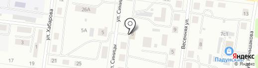 Магазин бытовой химии, косметики и парфюмерии на карте Братска