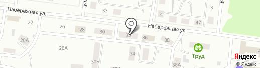 Дирекция капитального строительства и ремонта, МП на карте Братска