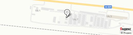 ВИНТ на карте Братска