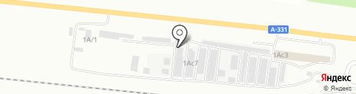 Служба проката лимузина на карте Братска