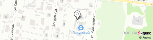 Времена года на карте Братска