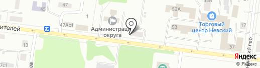 Швейное ателье на карте Братска