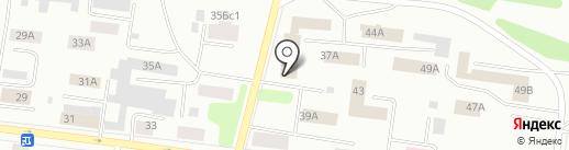 Азбука Мебели на карте Братска