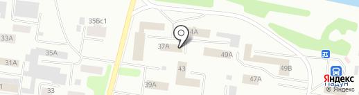 АСКОН-Ангара на карте Братска
