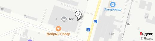 Конек-Горбунок на карте Братска