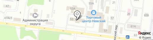 РАФТ ЛИЗИНГ на карте Братска