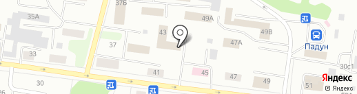 Адвокатский кабинет Комарова Д.А. на карте Братска