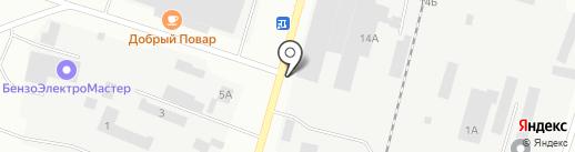 ТД Братсклеском на карте Братска