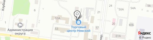 Мировые судьи Падунского и Правобережного районов на карте Братска