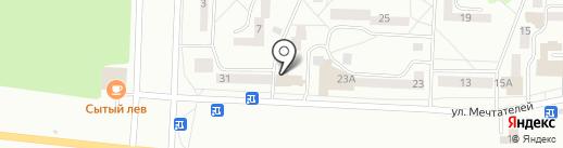 Корица на карте Братска