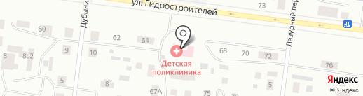 Поликлиника на карте Братска