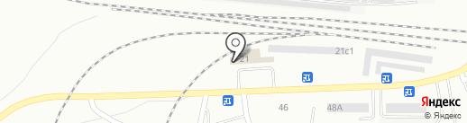 Рюмочный №1 на карте Братска