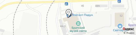 ТехноКлимат на карте Братска