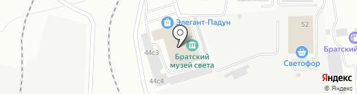 Мозаика, магазин отделочных материалов на карте Братска