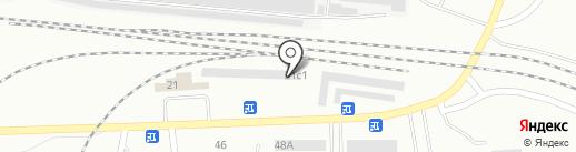 Шиномонтажая мастерская на карте Братска