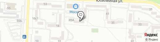 Аэрофлот, ЖСК на карте Братска