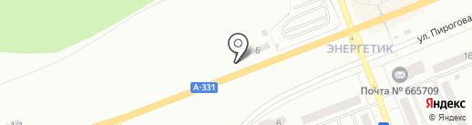 ГРАМАДА на карте Братска