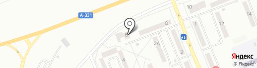 Арарат на карте Братска