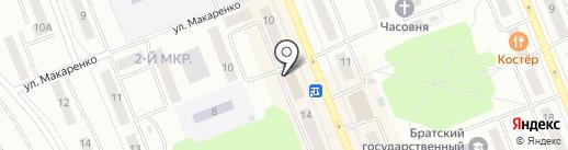 Faberlic на карте Братска