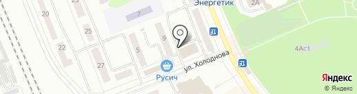ИНТЕХ на карте Братска