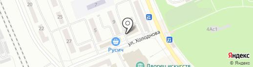 Крокус на карте Братска