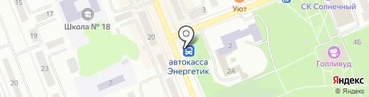 Neoplan на карте Братска