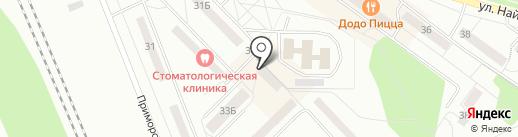 Rafinad на карте Братска