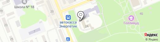 Инструментарий-авто на карте Братска