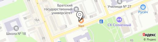 Уют на карте Братска