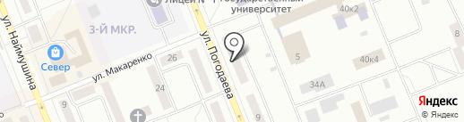 NFB на карте Братска