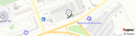 CENTRA-MARKET на карте Братска