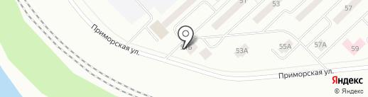 Поляна на карте Братска