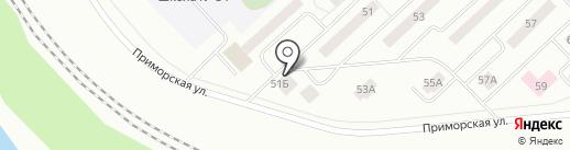 Ваниль на карте Братска