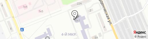 Братский Государственный Университет на карте Братска