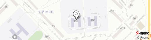 Детский сад №75, Журавлёнок на карте Братска