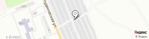 Ремонтный дом на карте Братска