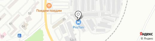 Динамо на карте Братска