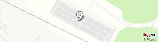 Автолюбитель-1 на карте Братска