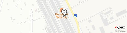 Центр авторазбора для КАМАЗ, МАЗ на карте Братска