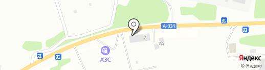 Магазин тракторных запчастей на карте Братска