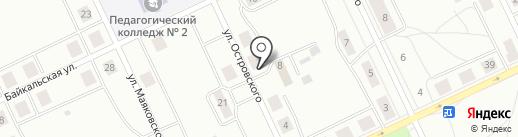 Магазин хозяйственных товаров на карте Братска
