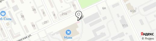 Pulse на карте Братска