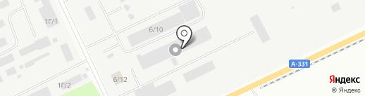 Новый двор на карте Братска
