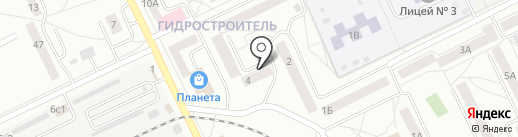Отопитель, ТСН на карте Братска