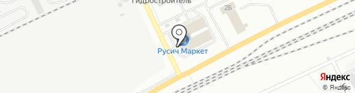 Домовой на карте Братска