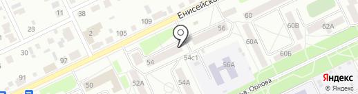 Таир плюс на карте Братска