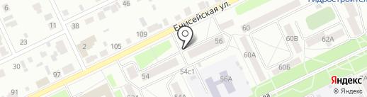 Иркутскпечать на карте Братска
